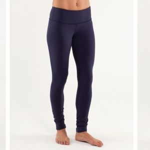 Lululemon Wunder Under Mid Rise Leggings